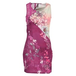 tekstylia Damskie Sukienki krótkie Smash GRETCHEN Różowy