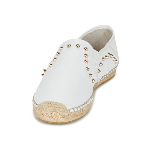 Ash Zabou Biały - Bezpłatna Dostawa- Buty Espadryle Damskie 39540 Najniższa Cena