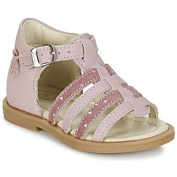 Buty Dziewczynka Sandały Aster MINIONE Różowy