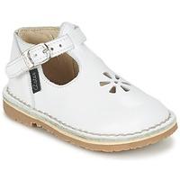 Buty Dziewczynka Baleriny Aster BIMBO Biały