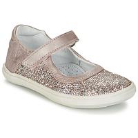 Buty Dziewczynka Baleriny GBB PLACIDA Różowy / Złoty