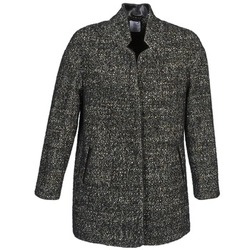 tekstylia Damskie Płaszcze Alba Moda XOLLO Szary / Chiné