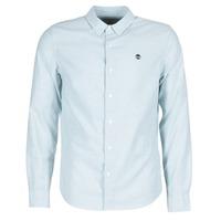 tekstylia Męskie Koszule z długim rękawem Timberland LS RATTLE RIVER OXFORD SHIRT SLIM Niebieski