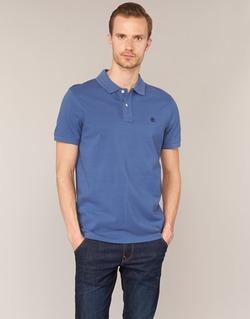 tekstylia Męskie Koszulki polo z krótkim rękawem Timberland SS MILLERS RIVER PIQUE REG POLO Niebieski
