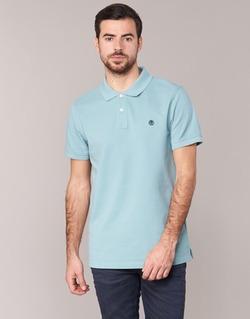 tekstylia Męskie Koszulki polo z krótkim rękawem Timberland SS MILLERS RIVER PIQUE REG POLO Niebieski / CLAIR