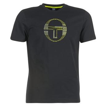 tekstylia Męskie T-shirty z krótkim rękawem Sergio Tacchini DAVE TEE-SHIRT Czarny