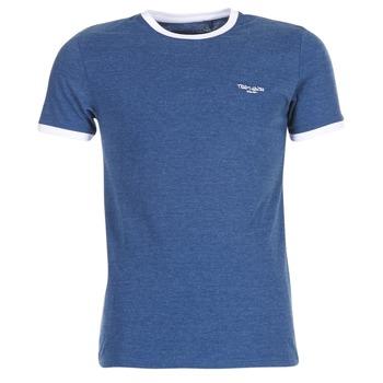 tekstylia Męskie T-shirty z krótkim rękawem Teddy Smith THE TEE Niebieski