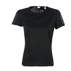 tekstylia Damskie T-shirty z krótkim rękawem adidas Performance RS SS TEE W Czarny