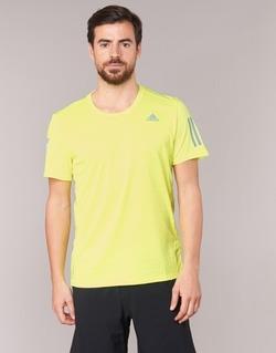 tekstylia Męskie T-shirty z krótkim rękawem adidas Performance RS SS TEE M żółty