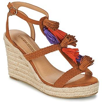 Buty Damskie Sandały Buffalo VARIN Brązowy