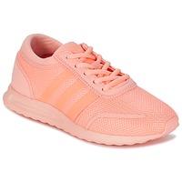 Buty Dziewczynka Trampki niskie adidas Originals LOS ANGELES J Różowy / Koral