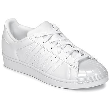 Buty Damskie Trampki niskie adidas Originals SUPERSTAR GLOSSY TO Biały