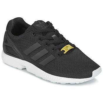 Buty Dziecko Trampki niskie adidas Originals ZX FLUX J Czarny