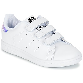 Buty Dziecko Trampki niskie adidas Originals STAN SMITH CF C Biały