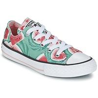 Buty Dziewczynka Trampki niskie Converse CHUCK TAYLOR ALL STAR WATERMELON OX Zielony / Czerwony / Biały