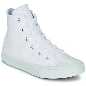 Buty Dziewczynka Trampki wysokie Converse CHUCK TAYLOR ALL STAR II PASTEL SEASONAL TD HI Biały / Niebieski / CIEL