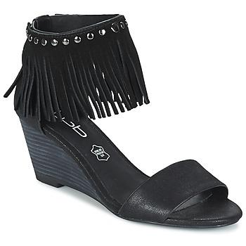 Buty Damskie Sandały LPB Shoes NADIA Czarny