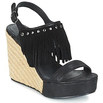Buty Damskie Sandały LPB Shoes SABINE Czarny