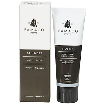 Dodatki Pasty do butów Famaco Tube applicateur cirage noir 75 ml Czarny