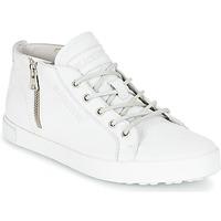 Buty Damskie Trampki wysokie Blackstone NL35 Biały