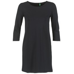tekstylia Damskie Sukienki krótkie Benetton SAVONI Czarny