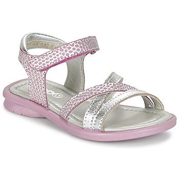Buty Dziewczynka Sandały Mod'8 JELGUY2 Różowy