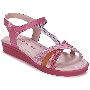Buty Dziewczynka Sandały Agatha Ruiz de la Prada BINETTE Różowy