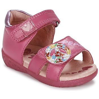 Buty Dziewczynka Sandały Agatha Ruiz de la Prada BOUTICHEK Różowy
