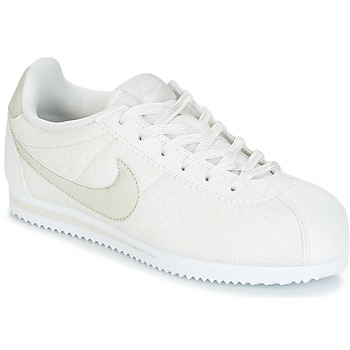 Buty Dziewczynka Trampki niskie Nike CORTEZ LEATHER SE JUNIOR Beżowy