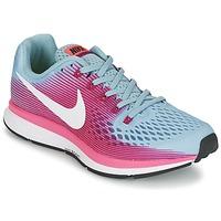 Buty Damskie Bieganie / trail Nike AIR ZOOM PEGASUS 34 Niebieski / FUKSJA