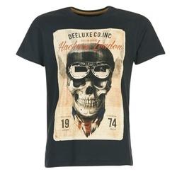 tekstylia Męskie T-shirty z krótkim rękawem Deeluxe CLEM Szary / Beżowy