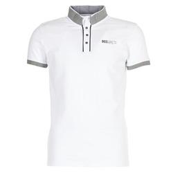 tekstylia Męskie Koszulki polo z krótkim rękawem Deeluxe SQUART Biały