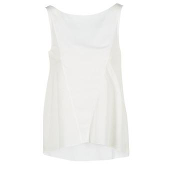 tekstylia Damskie Topy na ramiączkach / T-shirty bez rękawów Desigual ROMINESSA Biały
