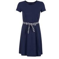 tekstylia Damskie Sukienki krótkie Petit Bateau FLARE MARINE