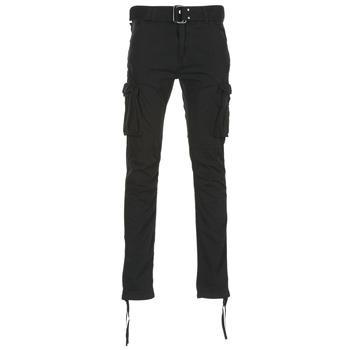 tekstylia Męskie Spodnie bojówki Schott TR RANGER 70 Czarny