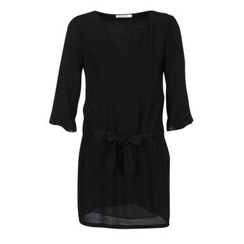 tekstylia Damskie Sukienki krótkie See U Soon 7121032 Czarny