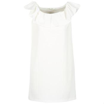 tekstylia Damskie Sukienki krótkie See U Soon 7123017 Biały