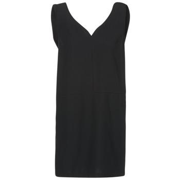 tekstylia Damskie Sukienki krótkie See U Soon 7121047 Czarny