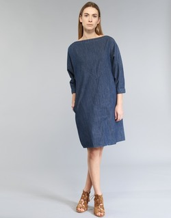 tekstylia Damskie Sukienki krótkie Diesel DE CHOF Niebieski