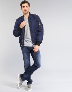 tekstylia Męskie Jeansy slim fit Diesel AKEE Niebieski