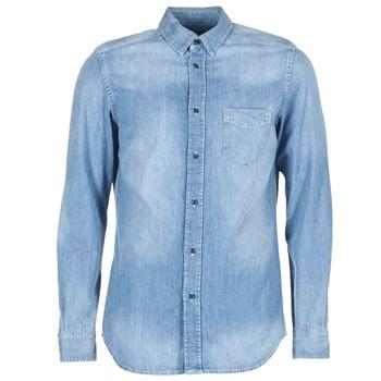 tekstylia Męskie Koszule z długim rękawem Diesel D CARRY Niebieski
