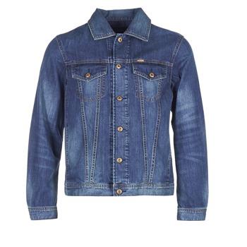tekstylia Męskie Kurtki jeansowe Diesel NHILL Niebieski