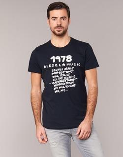 tekstylia Męskie T-shirty z krótkim rękawem Diesel T DIEGO NB Czarny