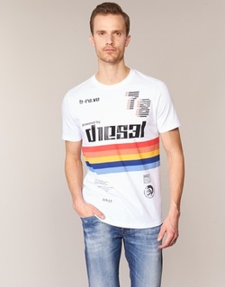 tekstylia Męskie T-shirty z krótkim rękawem Diesel T JOE OB Biały