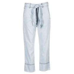 tekstylia Damskie Spodnie z lejącej tkaniny / Alladynki Diesel DE JAMA Niebieski