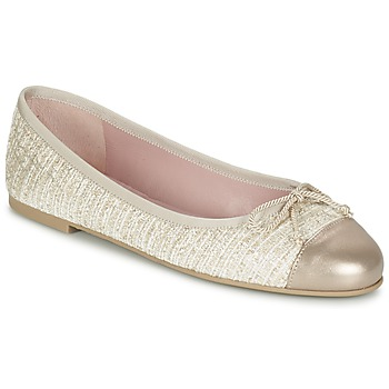 Buty Damskie Baleriny Pretty Ballerinas AMI Złoty / Różowy