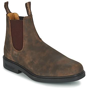 Buty Buty za kostkę Blundstone COMFORT DRESS BOOT Brązowy