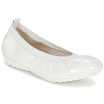 Buty Dziewczynka Baleriny Geox J PIUMA BALL B Biały