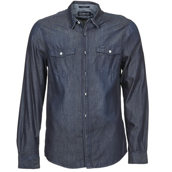tekstylia Męskie Koszule z długim rękawem Energie VETTEL Niebieski