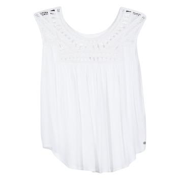 tekstylia Damskie Topy na ramiączkach / T-shirty bez rękawów Rip Curl AMOROSA TOP Biały